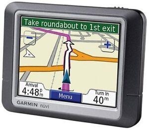 "Garmin nuvi 260 3.5"" Car GPS w/ North America + Europe maps."