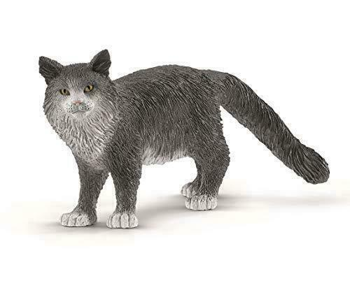 Schleich 13893 Maine Coon Cat Model Toy Figurine New 2019 - NIP