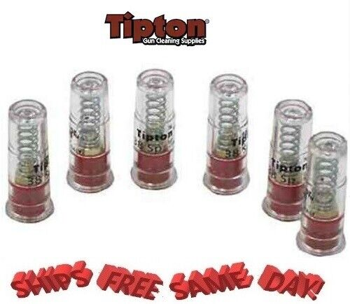Tipton Snap Cap Polymer, 6 Pack for 38 Special, 357 Mag NEW!! # 321398
