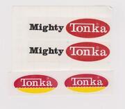 Tonka Decals