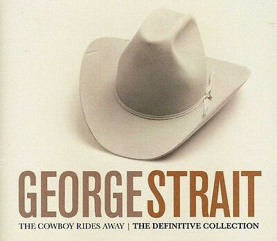 George Strait   Definitive Collection  New Cd  Uk   Import