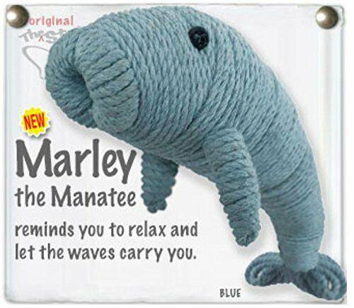 Kamibashi Marley The Manatee The Original String Doll Handmade Keychain Toy &...