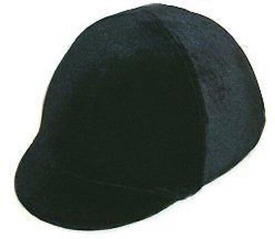 c33ec727e94 Sleazy Safety Troxel Riding Helmet Cover Black Velvet Show English Hunt Seat