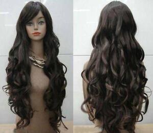 Dark Brown Wig EBay - Long dark brown hairstyle