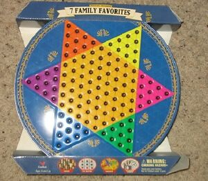 7 Family Favorite Games - new condition