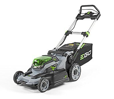 """EGO Cordless Walk Behind Lithium Battery Powered Electric Push 20"""" Lawn Mower"""