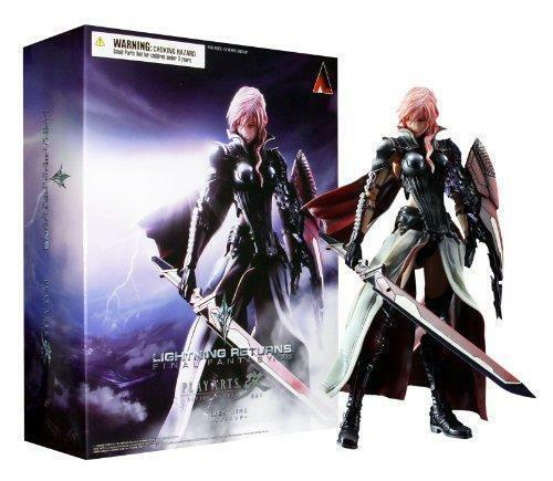 Final Fantasy LIGHTNING RETURNS XIII Play Arts Kai Figure Square Enix Authentic