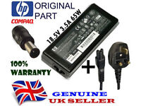 GENUINE HP COMPAQ 18.5V 3.5A 65W ROUND PIN ORIGINAL CHARGER ADAPTER