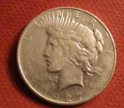 Silver 1927 Year Peace Dollars (1921-1935)