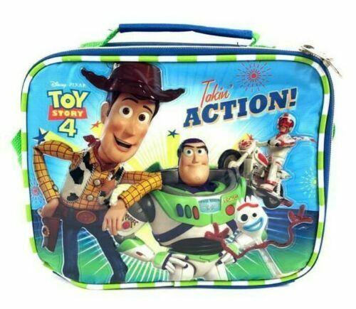 New Disney Toy Story 4~Woody Buzz & Forky Boys Blue Insulate