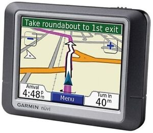 "Garmin nuvi 260 3.5"" Car GPS w/ North America + Europe maps."
