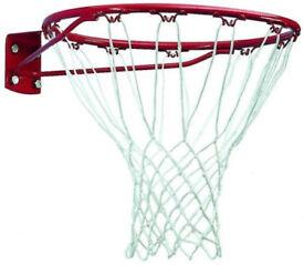 Basketball hoop full size, outdoor