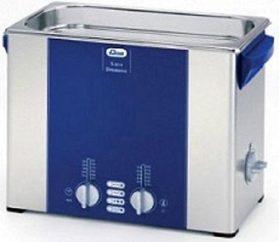Elma Elmasonic S60h 5.75 Liter Heated Ultrasonic Cleaner And Basket New