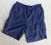 Mens Cargo Swim Shorts