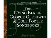 THE IRVING BERLIN GEORGE GERSHWIN & COLE PORTER SONGBOOKS DELUXE EDITION 2CD