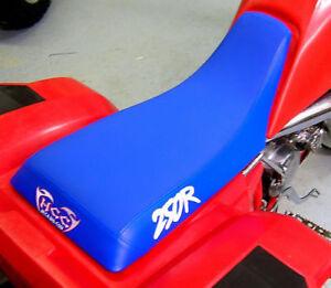 HONDA ATC 250r seat cover  250R on sides  1983 83 1984 84 year atc trike