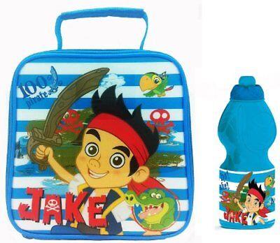 Jake The Neverland Piraten (Jake and the Never Land Piraten Isolierte Jausen Tasche und Sport Flasche Set)