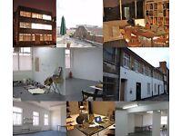Desk Space in a creative studio complex in Dalston
