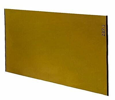 Gold Coated Green Welding Filter 2 X 4.25 Shade 10