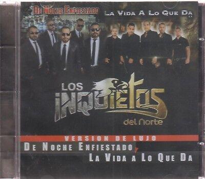 CD - Los Inquietos Del Norte De Norte De Noche Enfiestado Y La Vida A Lo Que Da
