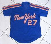 Mets Game Worn Jersey