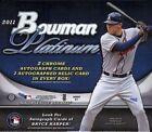 Bowman Platinum Sports Trading Boxes