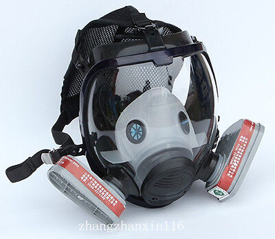 7 in 1 Facepiece Respirator Painting Spraying For 3M 6800 Full Face Gas Mask