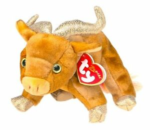 Ox the Zodiac ox Ty Beanie Baby stuffed animal
