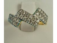 9092598 - 18ct Gold & Diamond Ring