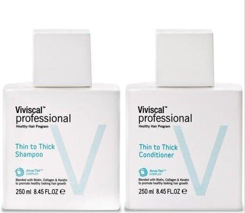 Viviscal Professional Thin to Thick Shampoo Conditioner 8.45