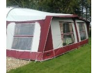 Caravan Awning - Pyramid Corsican size 950 in excellent condition ready for use.