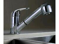 Brand new Chrome Pull Out Spray Monobloc Kitchen Sink Mixer Tap