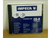 Impega CD-R 700 Mb-80min ! Pack of 80 !