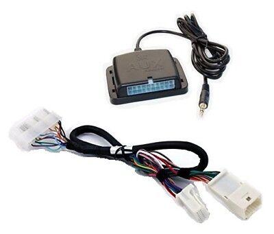 Auxiliary audio input interface. Add 3.5 aux MP3 jack to many Toyota Lexus radio