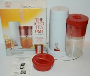 Mr Coffee Iced Tea Pot NIB-New In Box