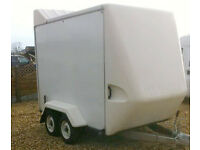 Box Trailer Tow A Van Indespension Twin Axle