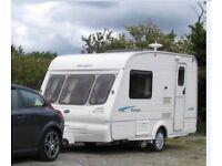 2002 Bailey Ranger 380/2 two berth Caravan. Serviced, excellent condition + power-Mate caravan mover
