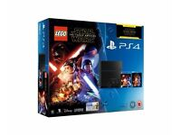 NEW PS4 500GB Console LEGO Star Wars: The Force Awakens Game + Blu-Ray Movie NEW BOX NOT OPENED