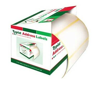 200 Self Adhesive White Labels postage address roll Sticky Stick