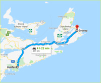 Halifax to Sydney - JAN 8 or 9
