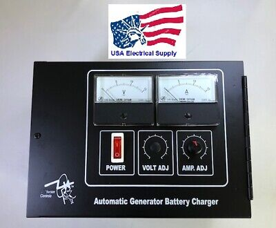 Automatic Generator Battery Charger 10amp Output 12vdc