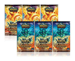 6 Packs Worldbreaker: War of the Elements WOW TCG Cards Booster Sealed