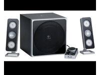 Logitech z4 2.1 speaker and sub