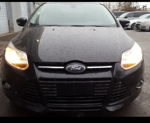 PRICED TO SELL!  Rebuilt Title 2012 Ford focus leather sunroof