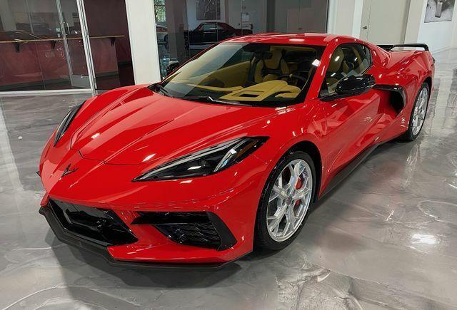 2021 Red Chevrolet Corvette  3LT | C7 Corvette Photo 2