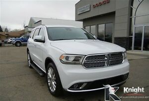 2014 Dodge Durango Citadel Heated Leather Sunroof NAV DVD