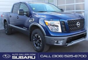 2017 Nissan Titan PRO-4X | 4X4 | BUCKET SEATS | PAINTED BUMPERS