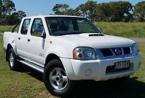 2011 Nissan Navara D22 S5 ST-R Polar White 5 Speed Manual Utility Bundaberg West Bundaberg City Preview