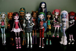 Monster High Dolls..Wanted London Ontario image 2