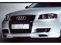 Audi A3 Front bumper Spoiler Splitter BRAND NEW RARE SLine Black edition S3 RS3 Quattro TDI FSI SE
